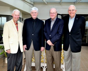 Grace Ridge Retirement Community residents - recipients of Morganton Man of the Year Award