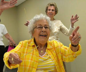 Conductorcise at Grace Ridge Retirement Community