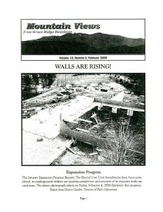 Mountain Views Newsletter February 2000