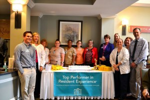 Grace Ridge Retirement Community - Carolinas HealthCare System Top Performer Awards of Excellence in Resident Experience