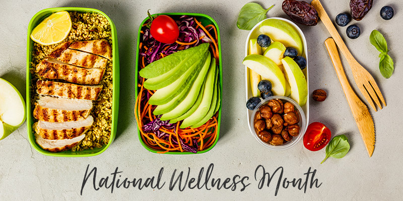 Explore new experiences, healthy habits for National Wellness Month