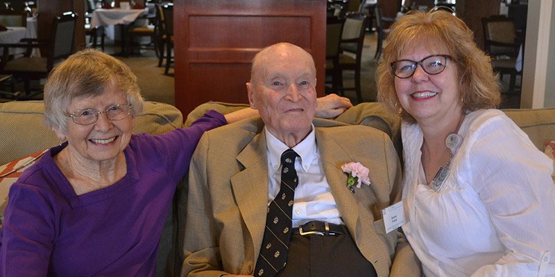 Grace Ridge resident heads to nation's capital on Queen City Honor Flight